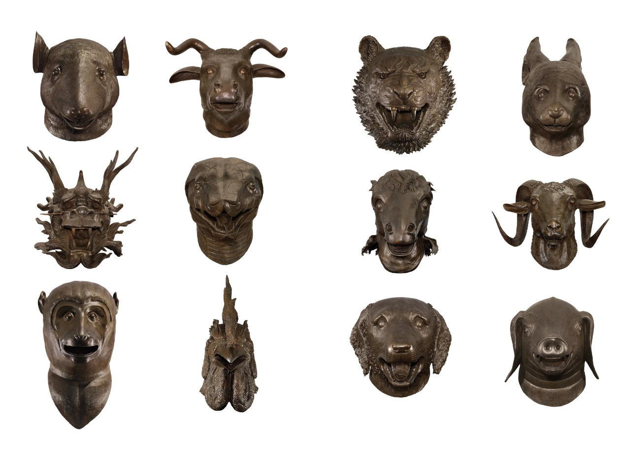 Ai Weiwei, Circle of Animals / Zodiac Heads, 2010