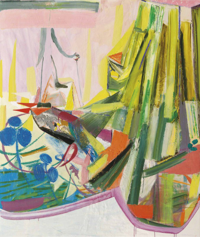 Amy Sillman, The New Land