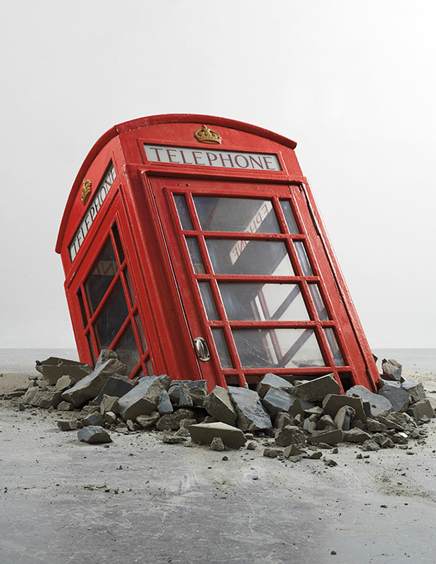 Banksy Banksy, Submerged Phone Booth, 2006