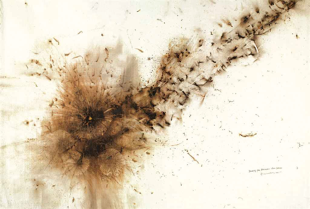 Cai Guo-Qiang, Drawing For Fireworks From Heaven