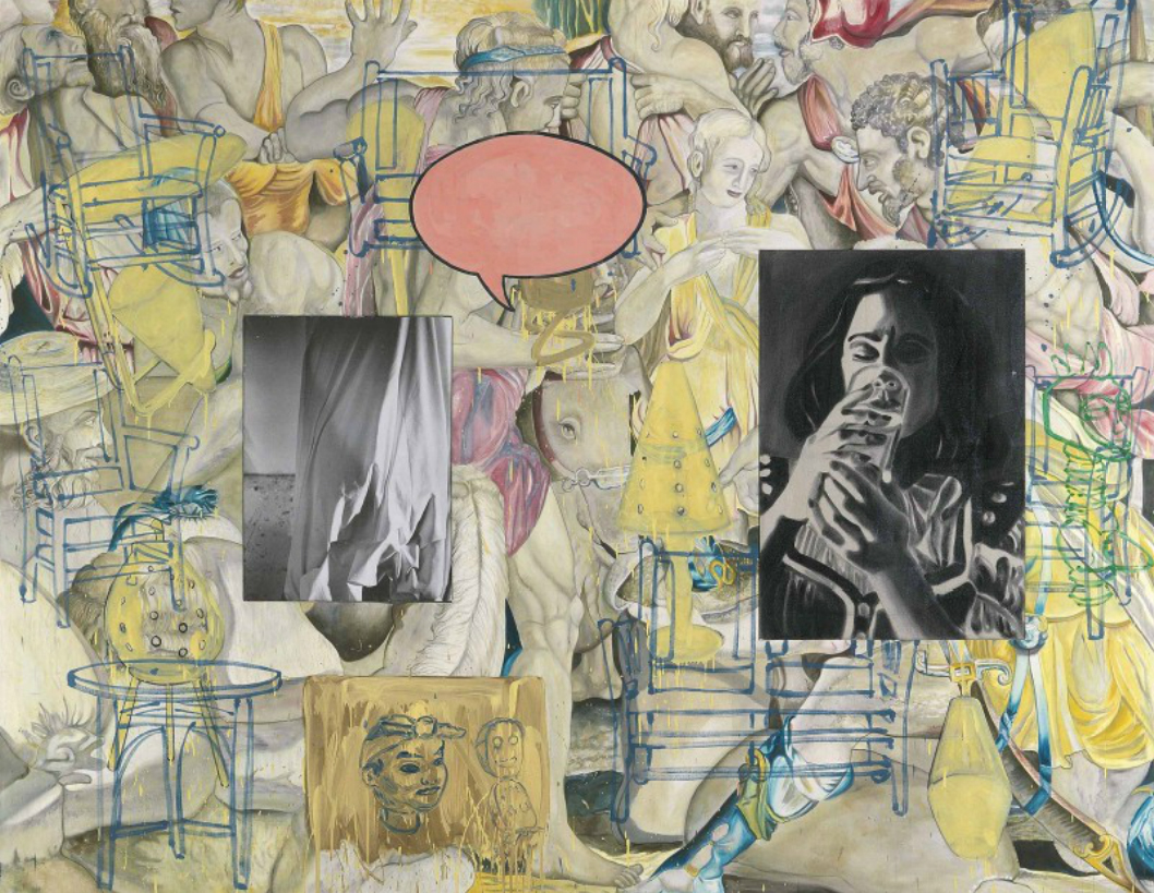 David Salle, Mingus in Mexico
