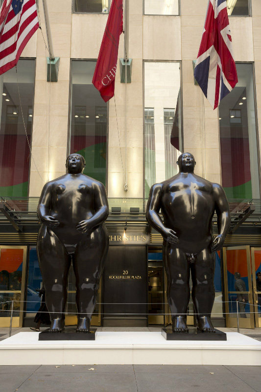 Fernando Botero, Adam and Eve