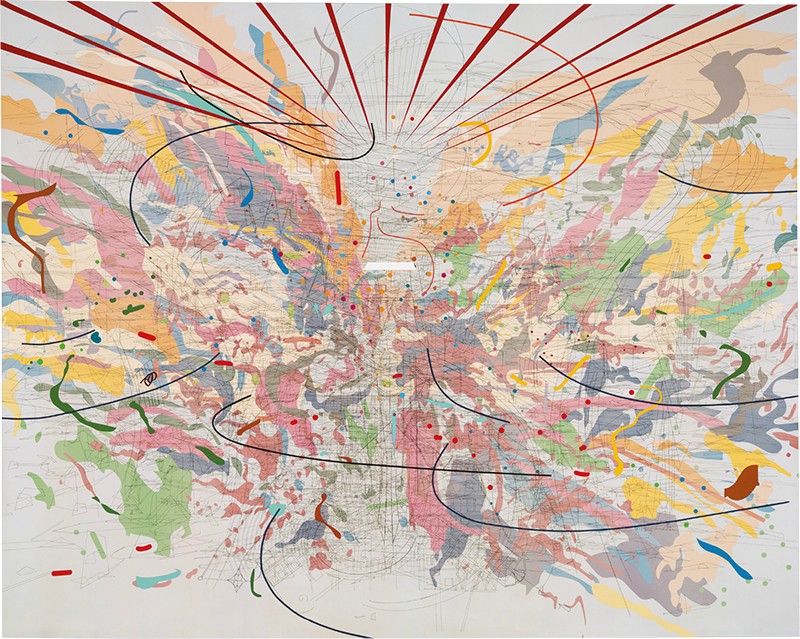 Julie Mehretu, Looking Back to a Bright New Future