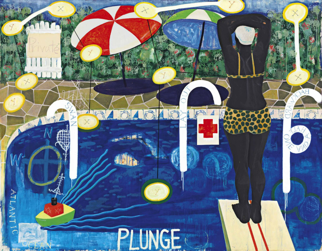 Kerry James Marshall, Plunge