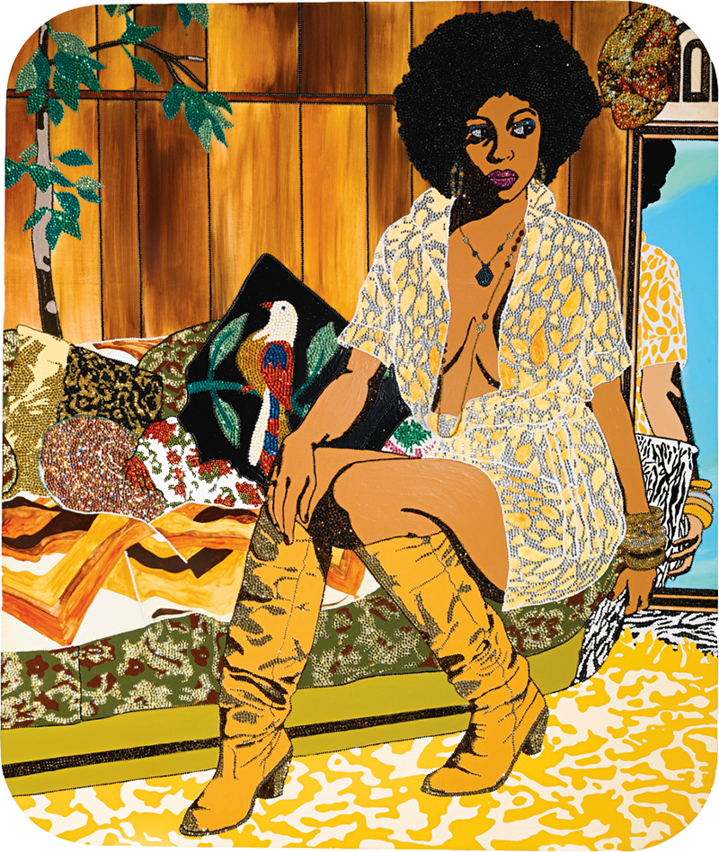 Mickalene Thomas, Come With Me, Now I Need You