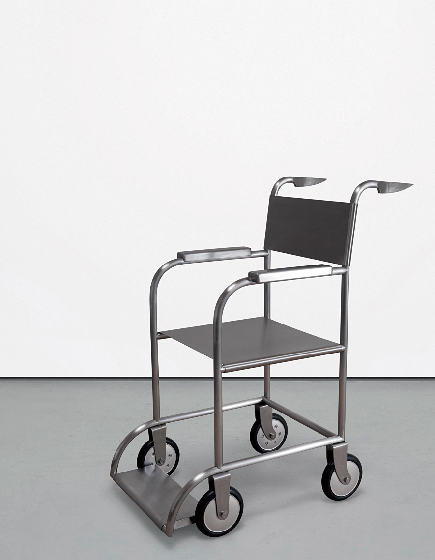Mona Hatoum, Untitled (wheelchair)