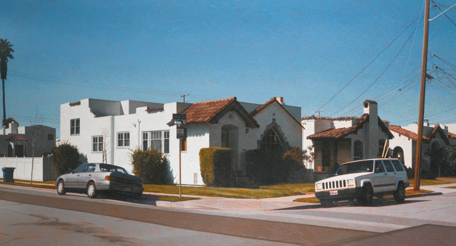 Robert Bechtle, Alameda Intersection - Clay and Mound Streets