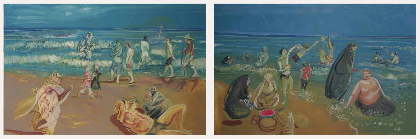 Rokni Haerizadeh, Shomal (Beach at the Caspian)