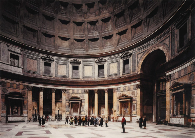 Thomas Struth, Pantheon, Rome