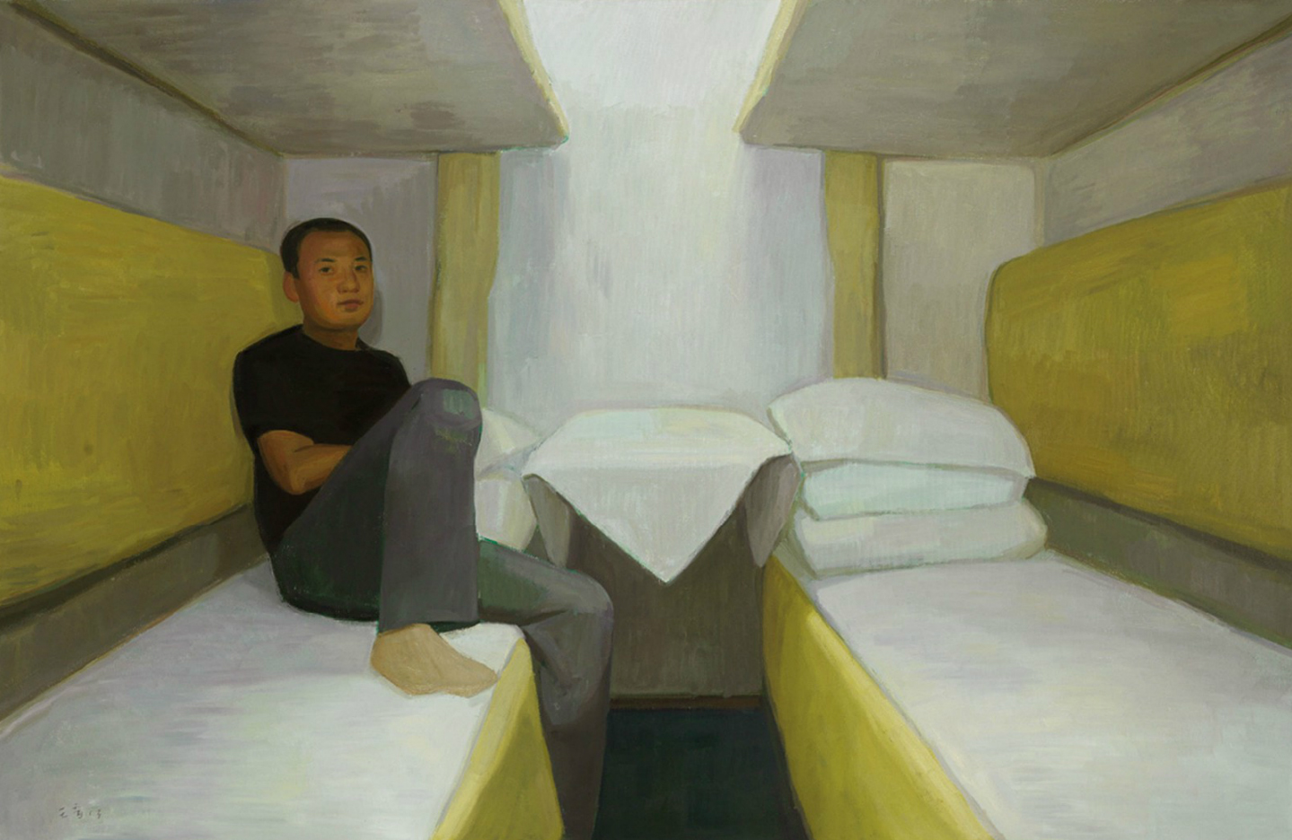 Wang Yin, On the Train