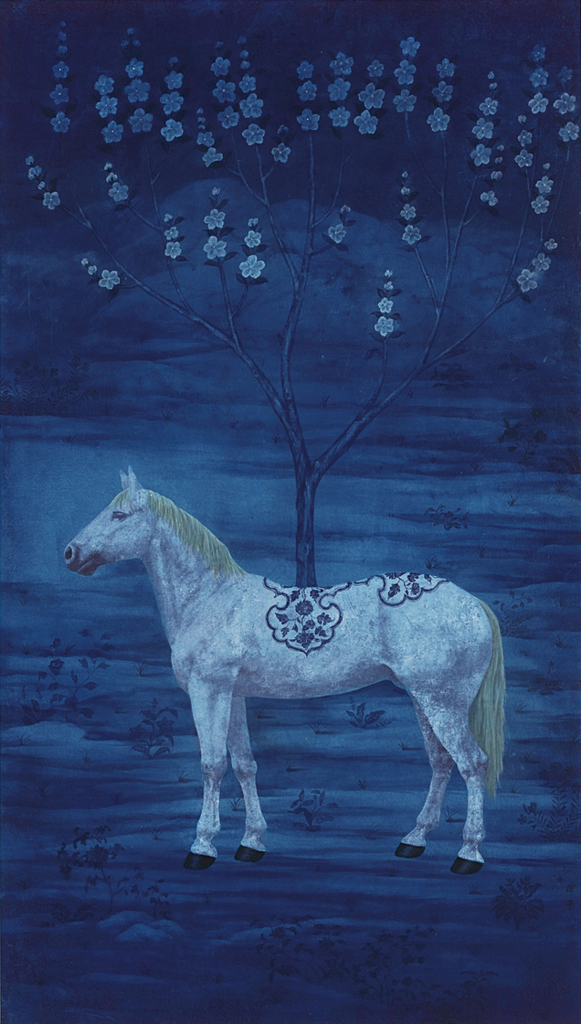 Xu Lei, Tree of Blue Underglaze