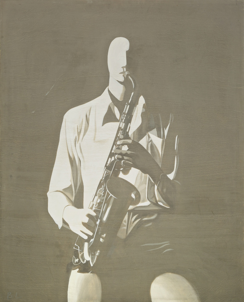 Zhang Peili, Pause (Front View of the Saxophonist)